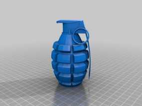 手榴弹 3D模型