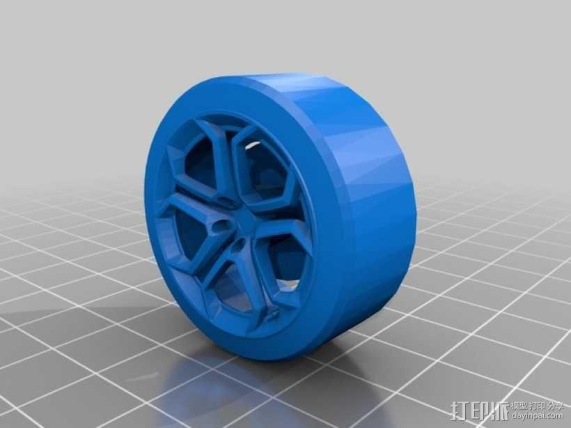 Lamborghini Aventador 兰博基尼跑车 3D模型  图2