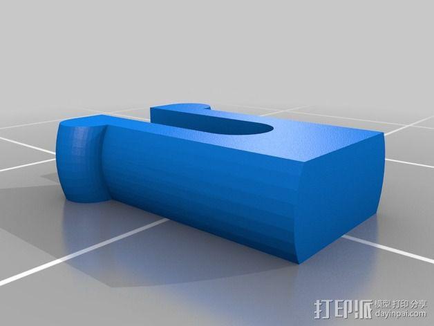 无畏号战舰 3D模型  图3