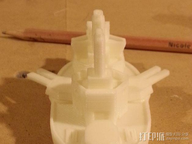 无畏号战舰 3D模型  图7