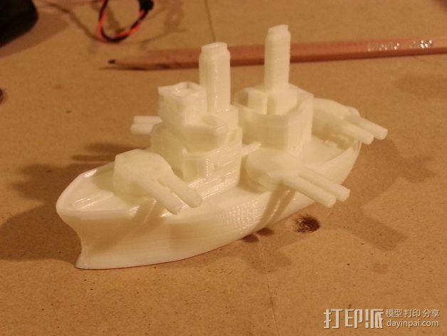 无畏号战舰 3D模型  图9
