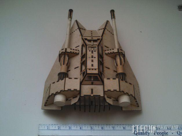 星球大战雪地战机 3D模型  图7