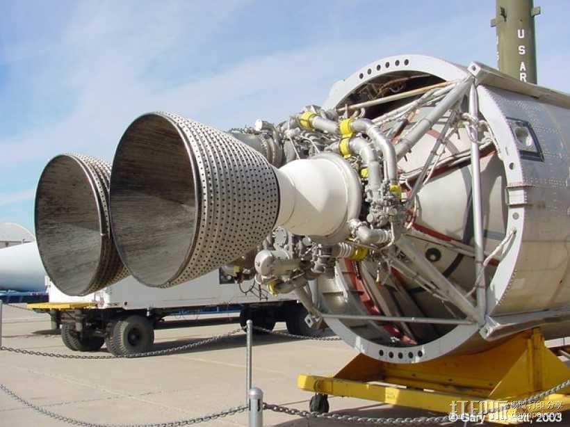 Titan II GLV飞行器引擎 3D模型  图9