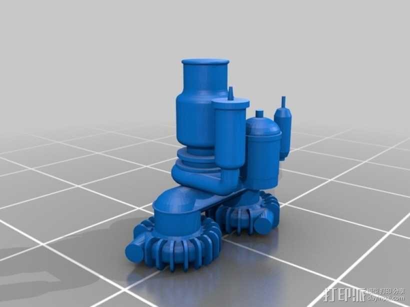 Titan II GLV飞行器引擎 3D模型  图8