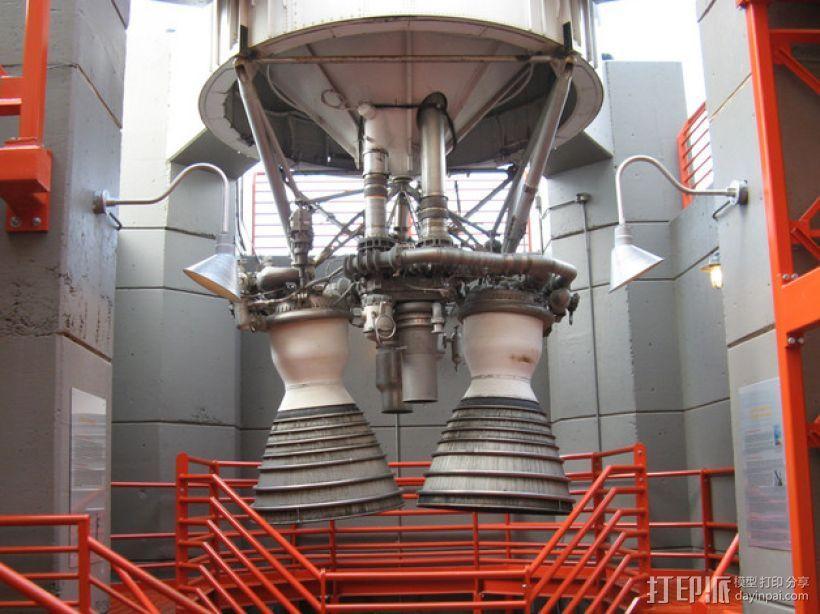 Titan II GLV飞行器引擎 3D模型  图11