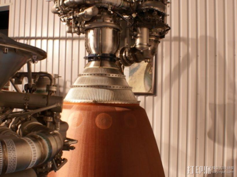 Titan II GLV飞行器引擎 3D模型  图12