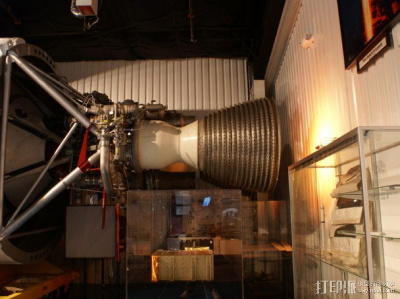 Titan II GLV飞行器引擎 3D模型  图14