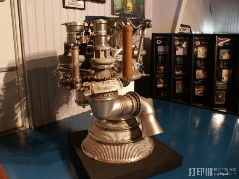 Titan II GLV飞行器引擎 3D模型  图13