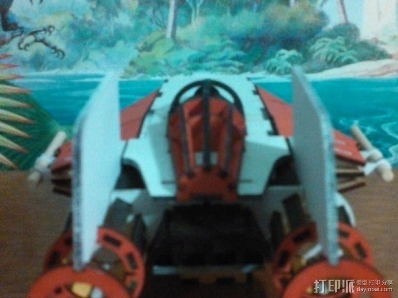 星球大战A翼拦截机 3D模型  图7