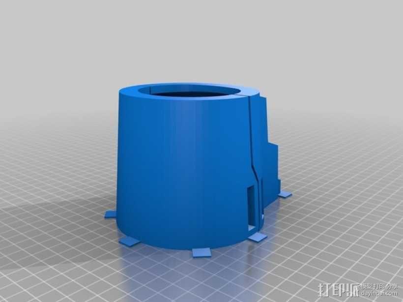 星球大战 曼达洛人的护臂盔甲 3D模型  图10