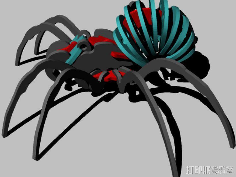 蜘蛛 3D模型  图1