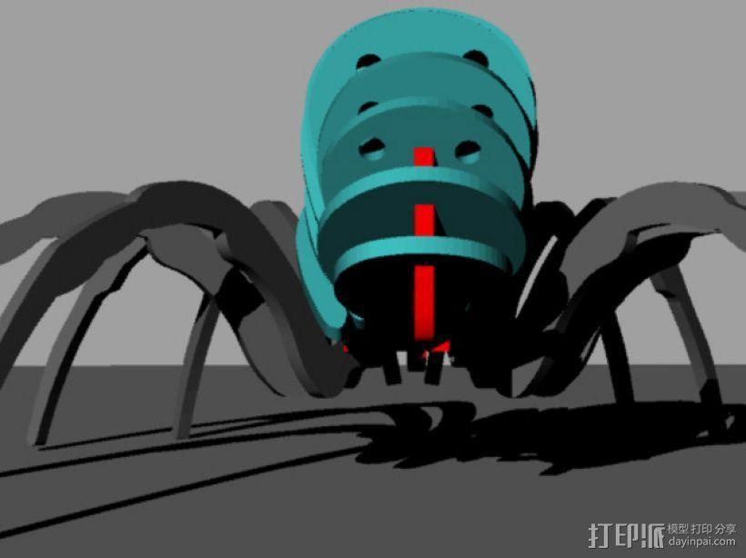 蜘蛛 3D模型  图4