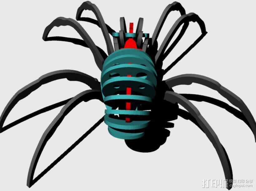 蜘蛛 3D模型  图8