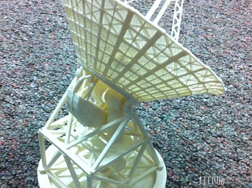 卫星接收器 3D模型  图1
