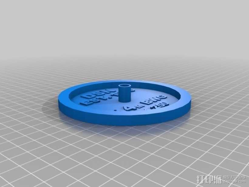 卫星接收器 3D模型  图2