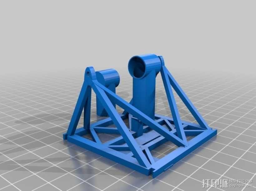 卫星接收器 3D模型  图3