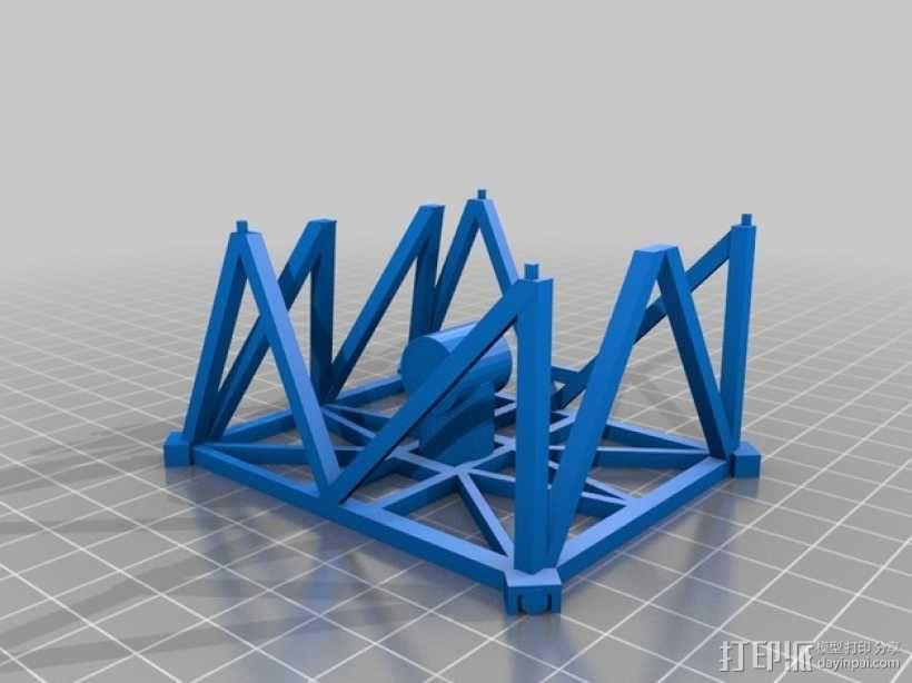 卫星接收器 3D模型  图4