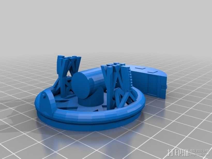 卫星接收器 3D模型  图5