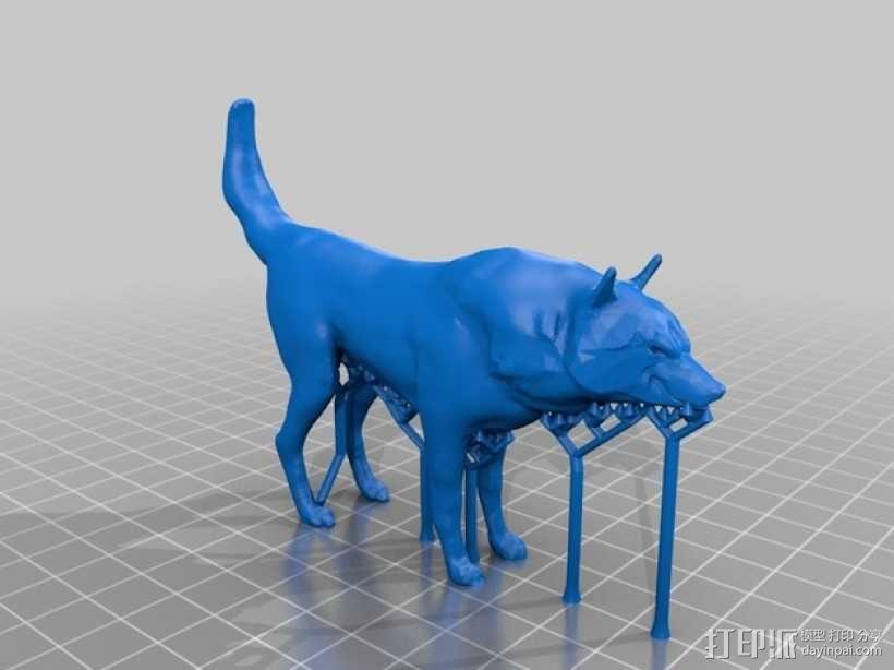红狼 3D模型  图2