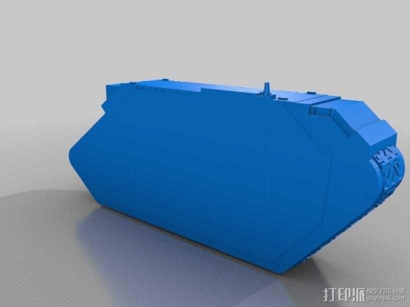 Land Raider坦克 3D模型  图5