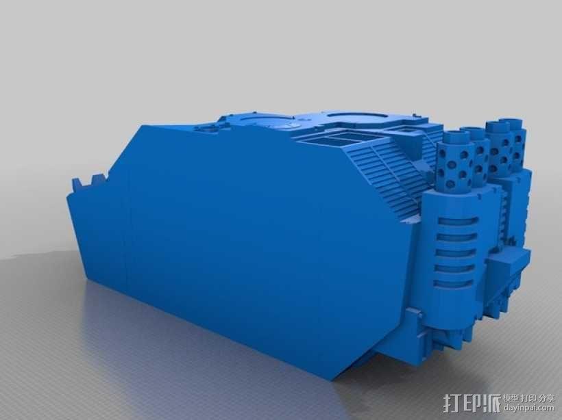 Land Raider坦克 3D模型  图6