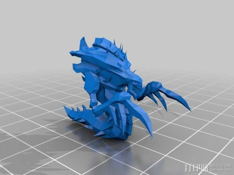 星际争霸海德拉刺蛇 3D模型  图1