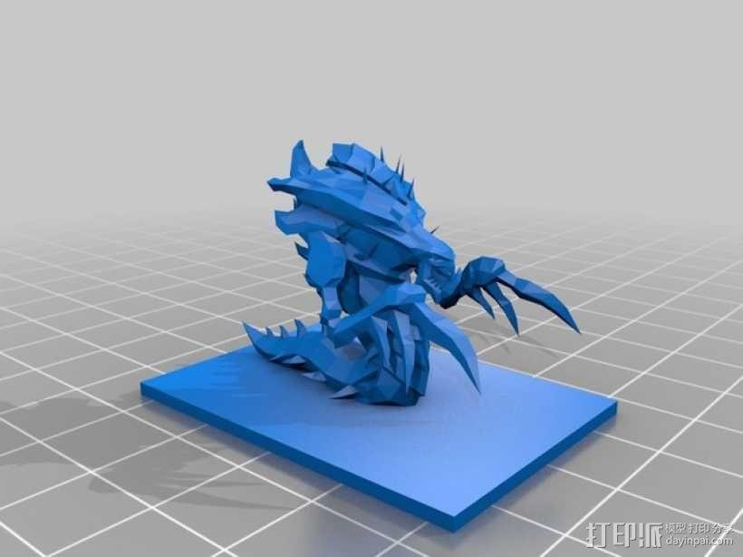 星际争霸海德拉刺蛇 3D模型  图3