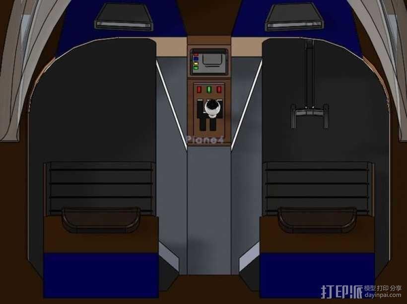 星球大战陆行艇 3D模型  图3