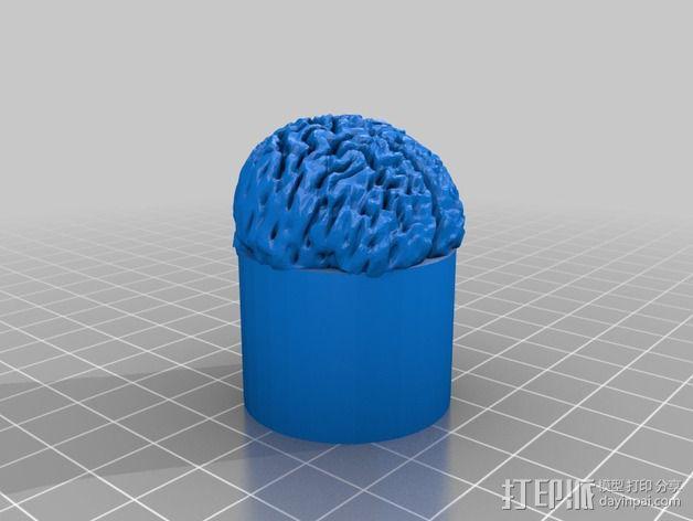 章鱼糖果罐 3D模型  图5