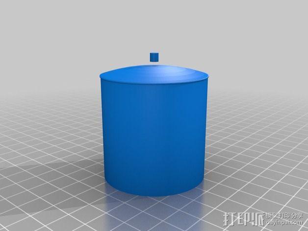 储油罐 3D模型  图4