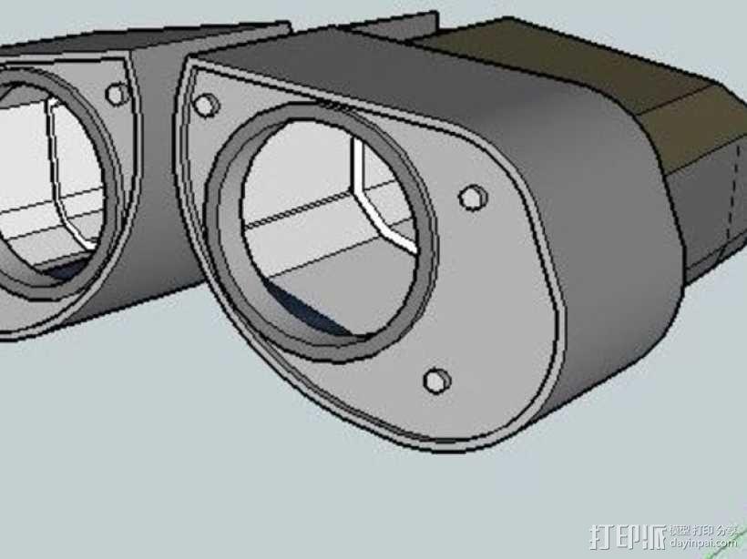 机器人眼睛 3D模型  图1