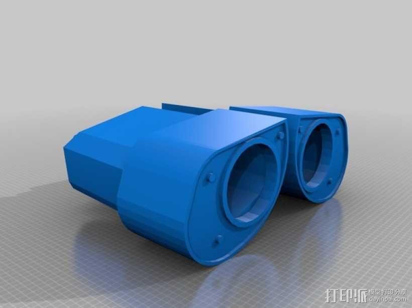 机器人眼睛 3D模型  图2