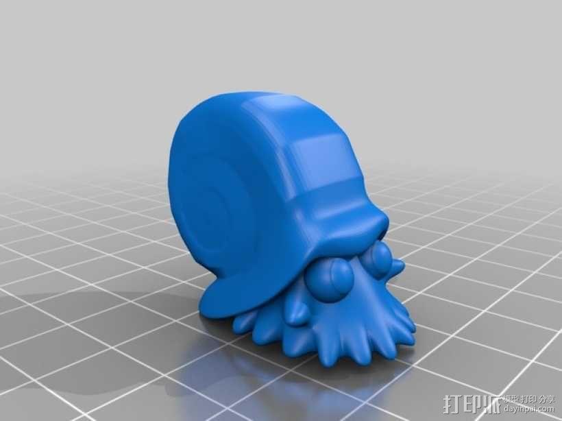 菊石兽 大海螺 3D模型  图1