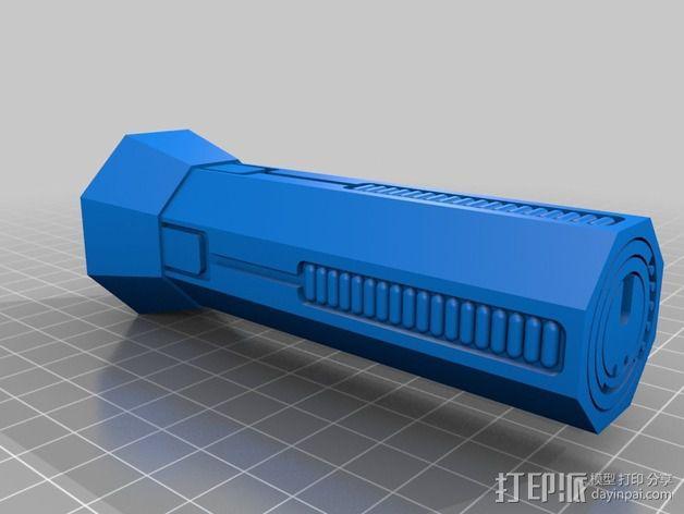 质量效应 热能弹夹 3D模型  图2