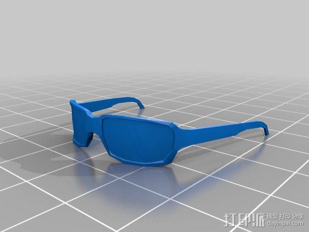 毁灭公爵半身像 3D模型  图2