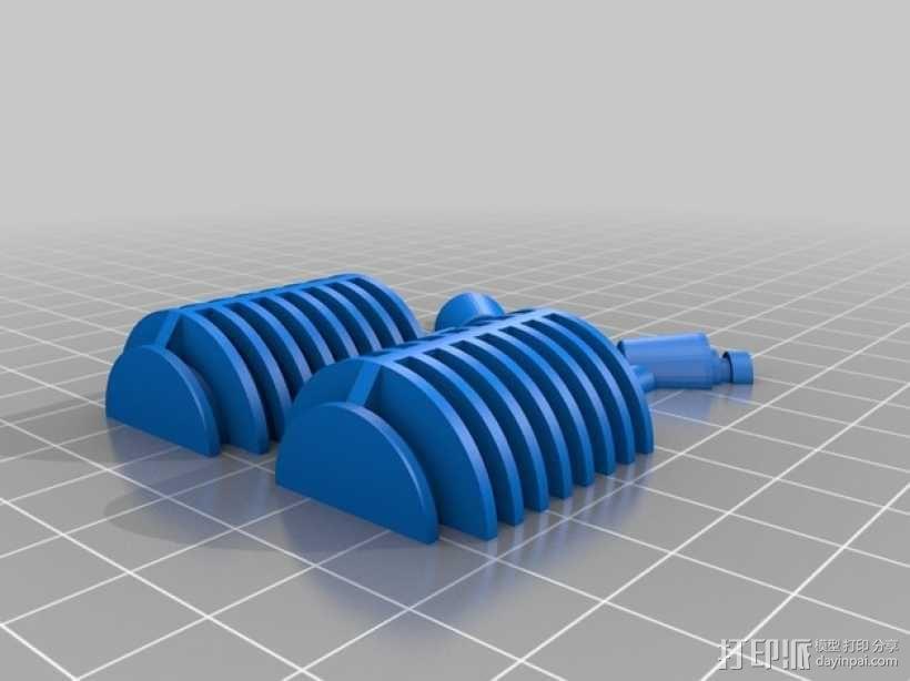 星际迷航智能耳机 3D模型  图2