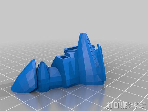 Dramiel飞船 3D模型  图2
