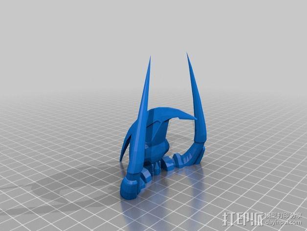 Dramiel飞船 3D模型  图3