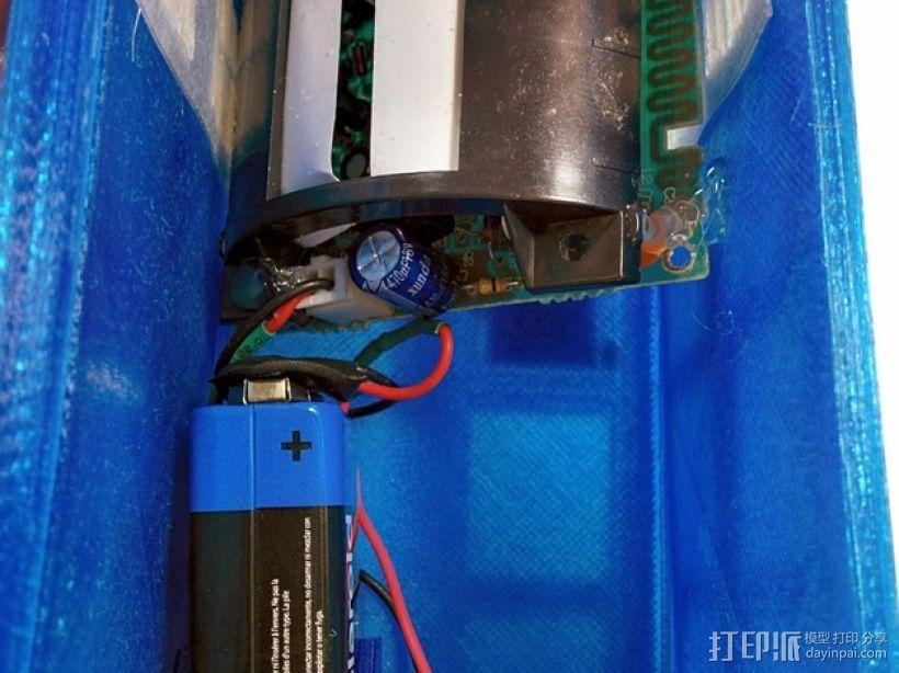 塔迪斯运动传感闹钟 3D模型  图3