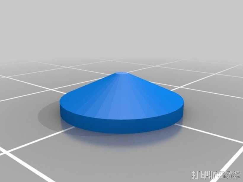 塔迪斯运动传感闹钟 3D模型  图9