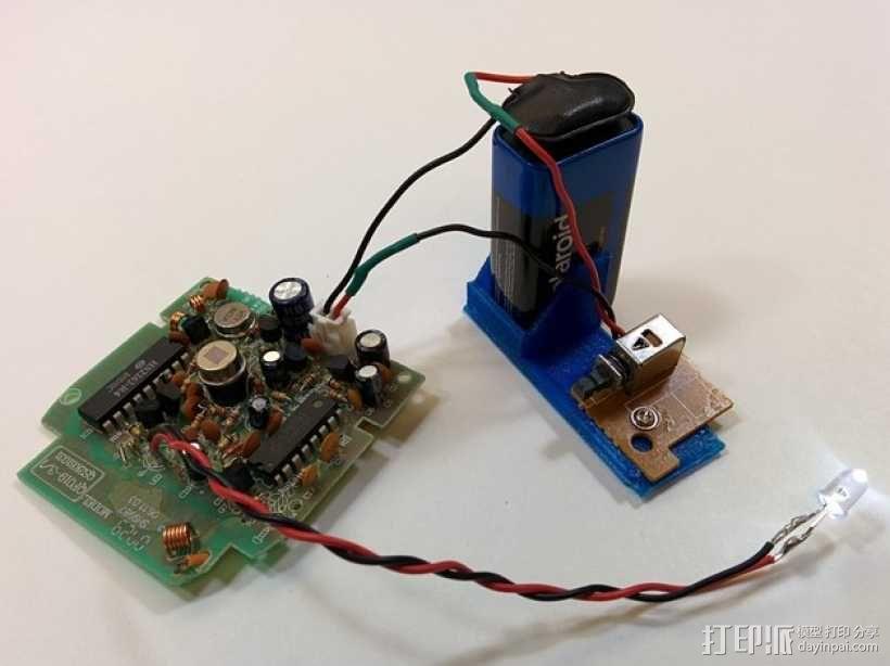 塔迪斯运动传感闹钟 3D模型  图8