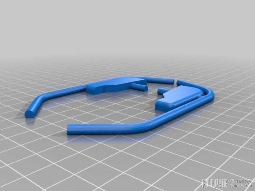 大型巡洋舰 3D模型  图3