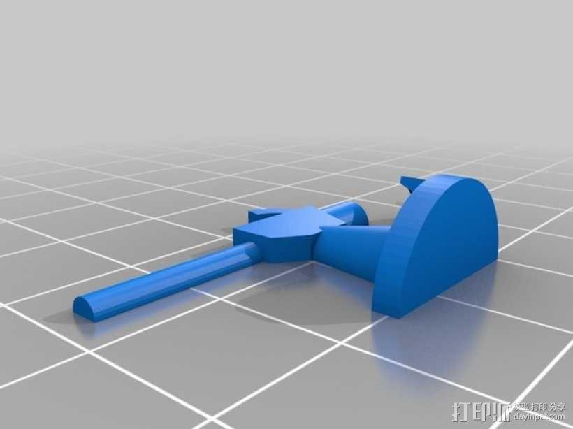 大型巡洋舰 3D模型  图20
