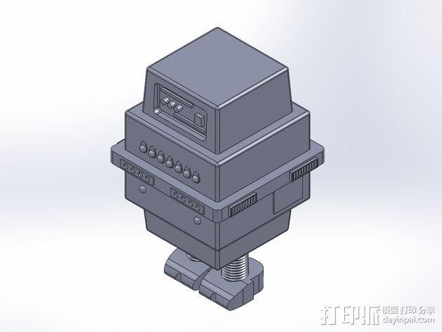 星球大战Gonk机器人 3D模型  图1