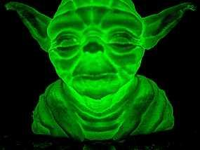 发光的尤达大师 3D模型