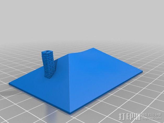 Dante Station房屋建筑 3D模型  图2