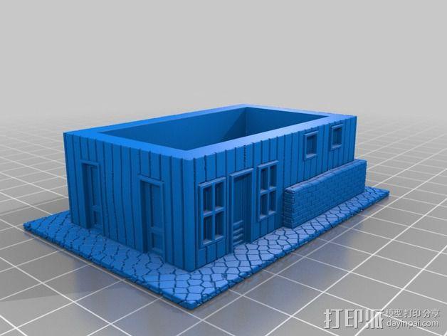 Dante Station房屋建筑 3D模型  图3