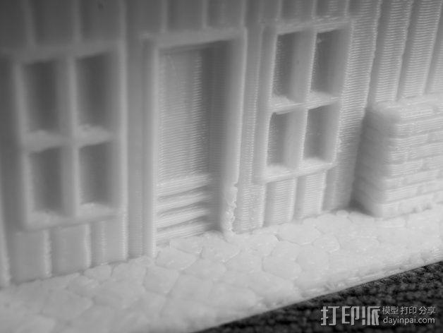 Dante Station房屋建筑 3D模型  图5