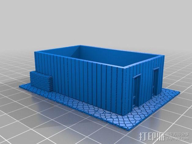Dante Station房屋建筑 3D模型  图6