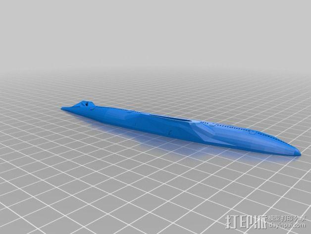 波音747飞机模型 3D模型  图4